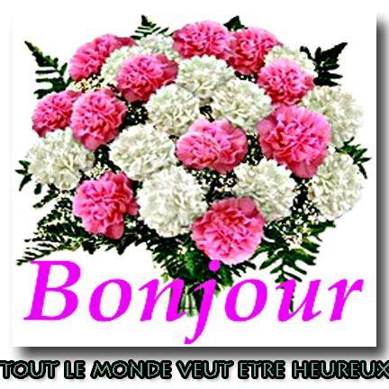 Bouquet de fleurs bonjour for Livraison fleurs avec message